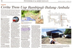 Cerita Trem Uap Balung-Rambipuji- Ambulu