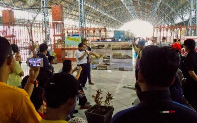 Pesta Peron di Stasiun Tanjung Priuk