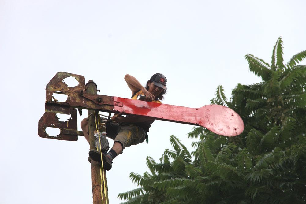Mempercantik Sinyal Cikajang Bersama IRPS Bandung