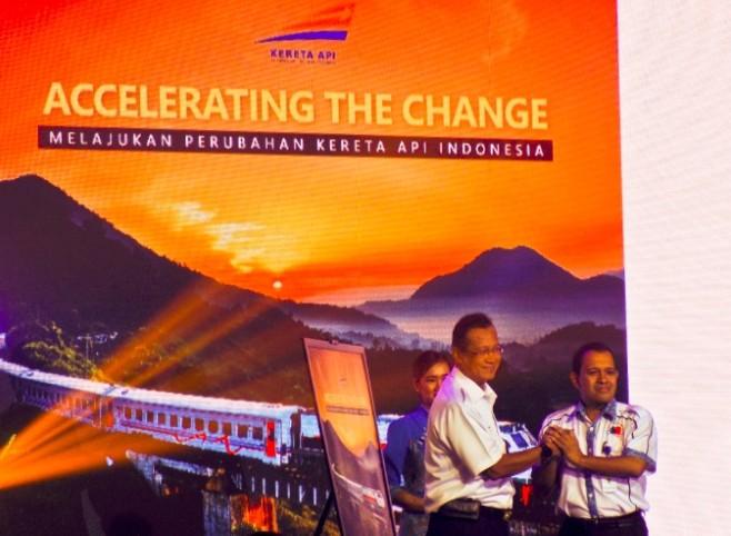 Peluncuran Buku Accelerating The Change – Melajukan Perubahan Kereta Api Indonesia