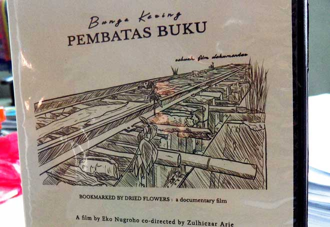 """Bunga Kering Pembatas Buku"", Film Dokumenter Saketi-Bayah dan Romusha"