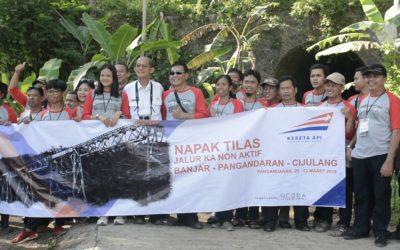 Napak Tilas Jalur Kereta Api Nonaktif Banjar-Pangandaran-Cijulang 2018