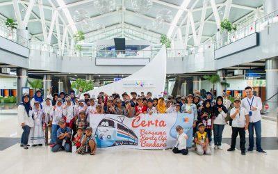 """Yayasan KAB Menggelar Kegiatan Sosial Edukatif """"Ceria Bersama Kereta Api Bandara"""""""