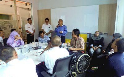 Pelatihan Penanganan dan Pelayanan Penyandang Disabilitas PT Railink