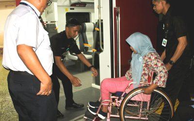 "Sinergi KAB-GAUN-Railink Menggelar ""Disabilitas Jalan Bareng Railink"""