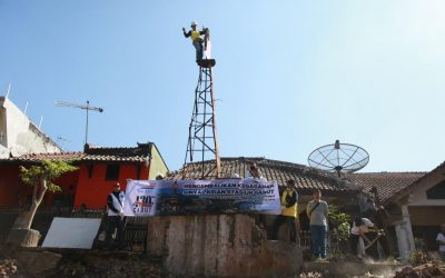 Bersama IRPS Bandung Melestarikan Sinyal Krian di Garut