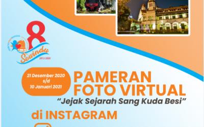 "Pameran Foto Virtual Perkeretaapian Indonesia ""Jejak Sejarah Sang Kuda Besi"""