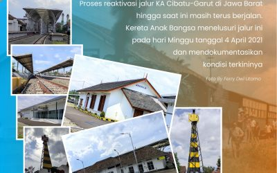 Mengunjungi Reaktivasi Jalur KA Cibatu-Garut